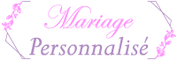 mariage personnalise